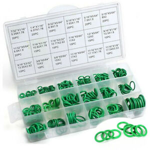 270Pcs Car Universal Air Condition O Rings HNBR Seal Ring Assortment 18 Size