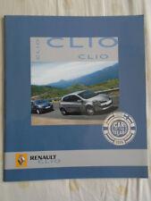 Renault Clio brochure Nov 2005 Irish market