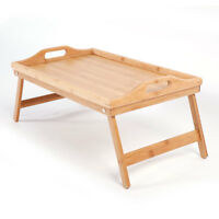 Simple Bamboo Tea Table Wood Color
