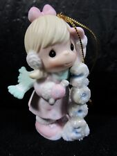 """Precious Moments """" Icy Good Times Ahead """" Figurine In Box Retired"""