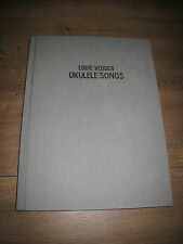 Eddie Vedder Ukulele Canzoni Deluxe Hardcover Songbook New Pearl Jam