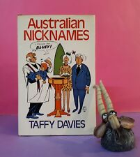 Taffy Davies: Australian Nicknames/dictionaries/nicknames/Australiana/humour