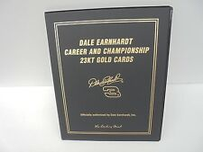 Dale Earnhardt Career and Championships 23kt Gold Cards 01 Danbury Mint Art Work