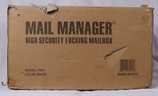 Mail Manager High Security Locking Mailbox Model 7507