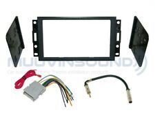 Radio Stereo Mounting Installation Dash Kit Combo 2DIN + Harness + Antenna CH39