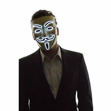Light Up LED Mask V for Vendetta Anonymous Guy Fawkes Costume Cosplay Masks