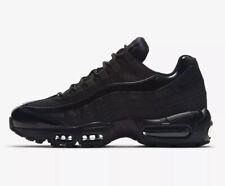 Nike Air Max 95 Trainers Sneakers Triple Black Size UK 8.5 (EUR 43) New RRP £140