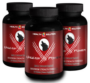 Testosterone UNLEASH-V-POWER MALE ENHANCEMENT PILLS  Helps maintain Energy 3B