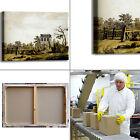 Caspar paesaggio con padiglione quadro stampa tela dipinto telaio arredo casa