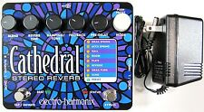 Used Electro-Harmonix EHX Cathedral Stereo Reverb Guitar Effects Pedal!