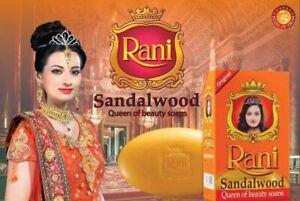 Rani Sandalwood Bathing Soap Value pack  ( 70g * 4 soap)