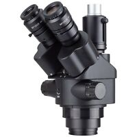 AmScope SM745NTP-B 7X-45X Simul-Focal Trinocular Zoom Stereo Microscope Head