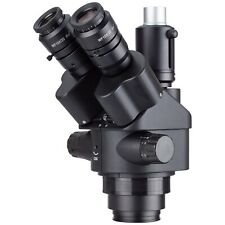 Amscope Sm745ntp B 7x 45x Simul Focal Trinocular Zoom Stereo Microscope Head