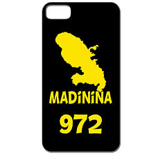 Coque 3 D Téléphone - IPHONE 4/4S - MADININA 972 MARTINIQUE ANTILLES CARAÏBES