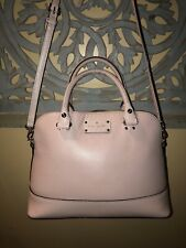 Authentic Kate Spade crossbody bag Satchel Purse In Pink