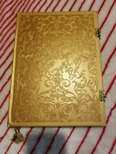 Disney Store Parks Beauty and The Beast Journal Live Action Film Diary Notebook