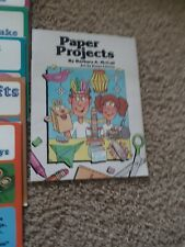Lot of 6 Books Crafts Kids Can Make Highlights Creative Craft Series 1981