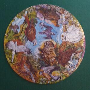 Vintage Circular Birds of Prey Jigsaw 500-pieces Waddingtons Excellent Condition