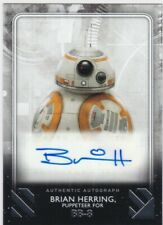 2020 Star Wars Rise Of Skywalker Series 2 Auto Brian Herring puppeteer for BB-8