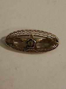 Vintage Eastern Star 10k Gold Pin