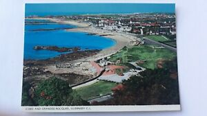 Postcard Cobo And Grandes Rocques Guernsey C.I. Postcard