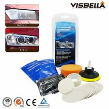 Car Headlight Restoration Kit Lens Cleaning Wipes Polish System Restore Cleaner