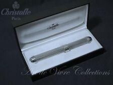 Christofle ARIA Cigar Case Storage Holder Silverware, Etui à Cigare.