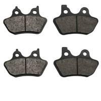 Volar Front & Rear Brake Pads for 2000-2007 Harley Softail Deuce FXSTD/i