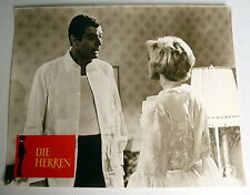 DIE HERREN * Peter van Eyck, Letitia Roman - EA-Aushangfoto #9 German  LC -1965
