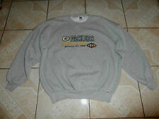Russell 1998 Green Bay Packers Super Bowl XXXII Football Pullover Sweatshirt XXL