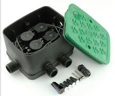 Coffret Ezy-valve ANTELCO 4 Electrovannes 24v Prémontées - Arrosage -31anez2725