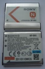 Batterie D'ORIGINE GENUINE SONY NP-BN1 3,6V  630mAh 2,3Wh NEUVE