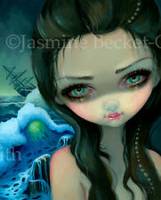 Jasmine Becket-Griffith art print pirate ship mermaid SIGNED Shipwreck Siren