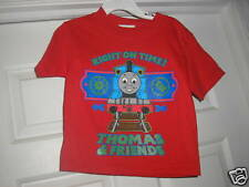 New Boys Thomas & Friends T Shirt 2T Red Short Sleeve