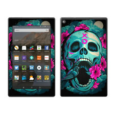 Skins Decals for Amazon Fire HD 8 Tablet / Skull Dia De Los Muertos Design Bird