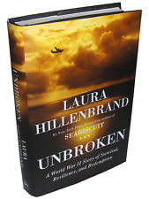 UNBROKEN by Laura Hillenbrand 2010 Hardcover, Jack O'Connell, Angelina Jolie