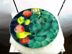 """M&S Made In Italy Home Series: Still life. serving/fruit bowl 15"""" radius."""