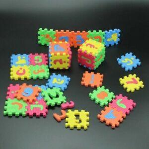 Arabic Alphabet Foam Puzzle Environmentally Eva Foam Mat For Baby 5.5 x 5.5cm