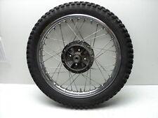 Yamaha DT100 DT 100 Enduro #5071 Chrome Rear Wheel & Tire