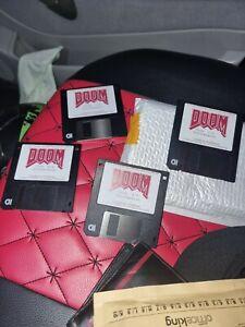 Original 1993 DOOM Computerspiel ID Software PC registriert Ver. 1.1 Floppy IBM