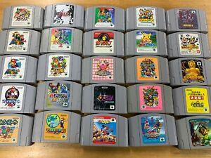Nintendo 64 N64 Various video game Cardridge Used JAPAN