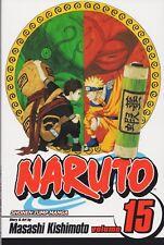 NARUTO Volume 15 Manga NEW