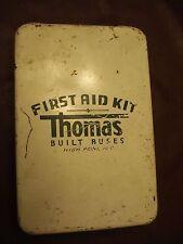 Vintage Metal First Aid Kit, Thomas Built Buses High Point, NC
