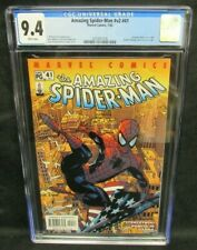 Amazing Spider-Man #v2 #41 (2002) (#482) Doctor Strange Cameo CGC 9.4 CW528