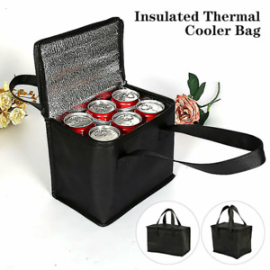 Insulated Lunch Bag Box Adult Kids Men Thermal Cool Food Storage Tote Large