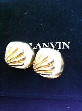 LANVIN Boucles d'oreilles - clips - Earrings signed - Haute Couture - Vintage