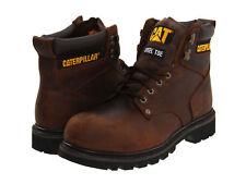 Men Caterpillar Second Shift Soft Toe Work Boot P72593 Dark Brown 100% Authentic