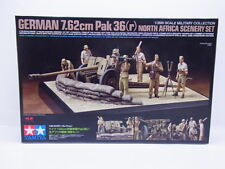 LOT 14767 | Tamiya 32408 German 7.62cm Pak Scenery Set 1:35 Bausatz NEU in OVP