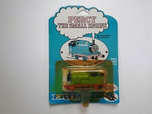 ERTL Thomas the Tank Engine Percy the Small Engine Paper Face Die Cast 1984