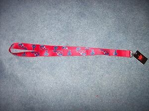 Philadelphia Phillies MLB Lanyard Key Chain/Badge Holder New With Tags Red